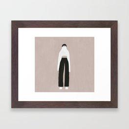 Turtleneck Framed Art Print