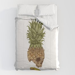 Pineapple Skull Comforters