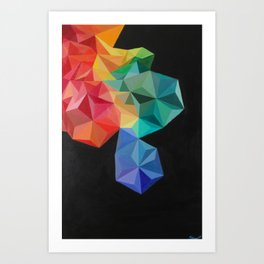 Pixelate Art Print