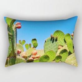 Cactus Patch - Nature Photography Rectangular Pillow