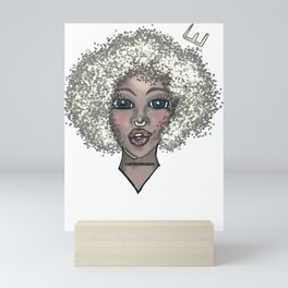Ice Queen- The Silver Lady Mini Art Print