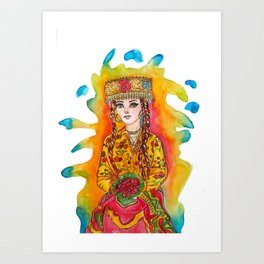 Carpathian Gold Art Print