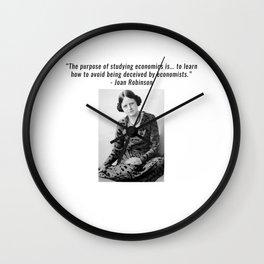 Joan Robinson Wall Clock