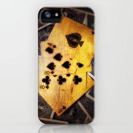 Dead Man's Hand iPhone Case