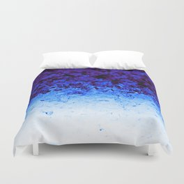 Indigo Blue Crystal Ombre Duvet Cover