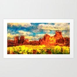 Arizona Spring Art Print