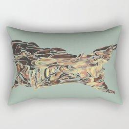 CARCASS OF BEEF: Rembrandt Refabricated Rectangular Pillow