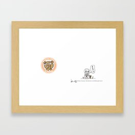 K Young-MUK Framed Art Print