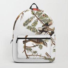 Rose breasted grosbeak, Birds of America, Audubon Plate 127 Backpack