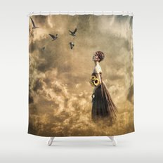 Walk in the Clouds Shower Curtain