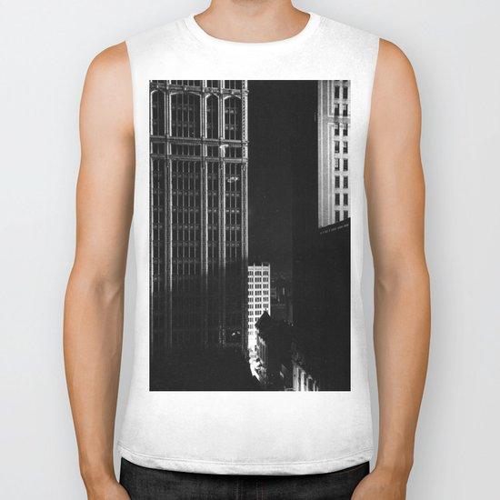 architecture immeuble noir blanc 4 Biker Tank