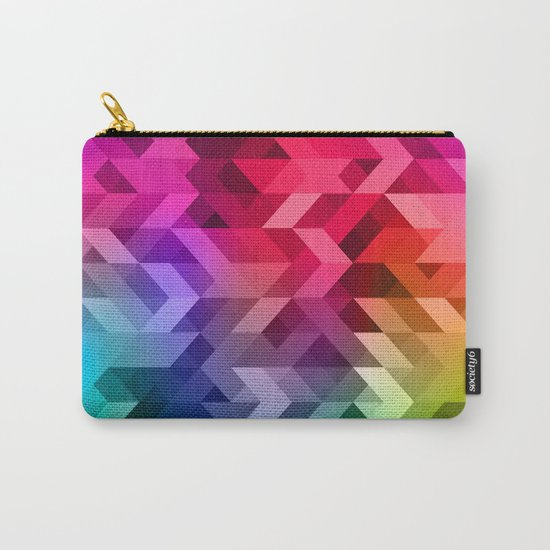 3d Retro  Carry-All Pouch