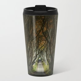 Dark Hedges alley in northern Ireland Travel Mug