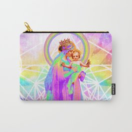 Our Lady of Sacred Geometry Carry-All Pouch