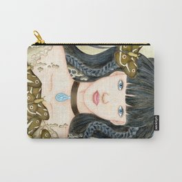 Moth Girl Carry-All Pouch