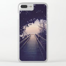 I'd hoped, I'd dreamed, Come back to me Clear iPhone Case