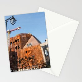 Lille architecture blue sky Stationery Cards