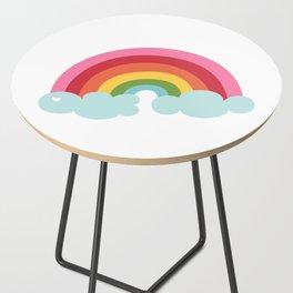 Rainbow Side Table
