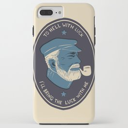 To Hell With Luck! iPhone Case