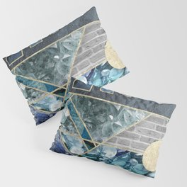 Ice and Stone Pillow Sham
