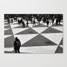 Pattern Cognition Canvas Print