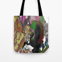 Whacky Bags pattern Tote Bag