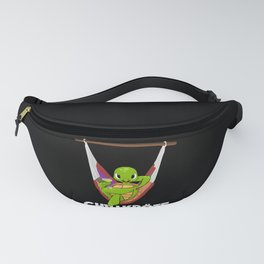 Chill Toad Relaxed In A Hammock Fanny Pack