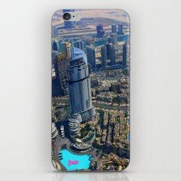 View from the Burj Khalifa iPhone Skin