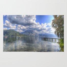 Traunsee Lake Altmunster Austria Rug