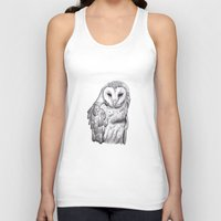 silver Tank Tops featuring Silver by Janelle S