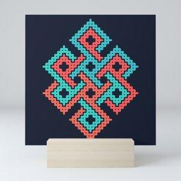 Longevity node Mini Art Print