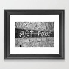 Art Project Framed Art Print