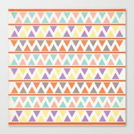 Triangulate 2 / Summer Bliss Canvas Print