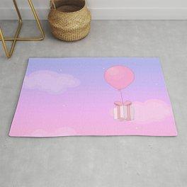 Animal Crossing Sunset Rug