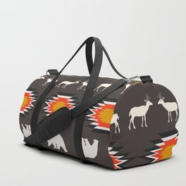Deer and bears Duffle Bag
