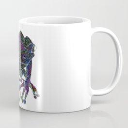 Psychedelic Giant Monkey Frog Coffee Mug