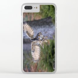 On The Hunt Clear iPhone Case
