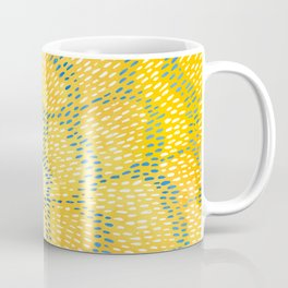 Golden Blossom Coffee Mug