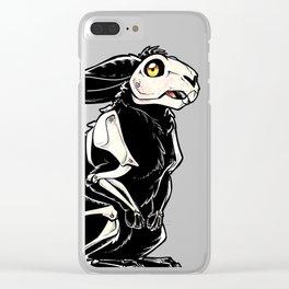 Skelebun Clear iPhone Case