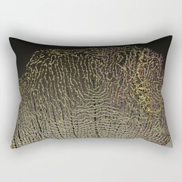 Purple Sea Fan II Rectangular Pillow