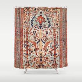 Tabriz Azerbaijan Northwest Persian Silk Rug Print Shower Curtain