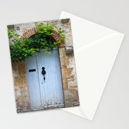 old door in France Stationery Cards
