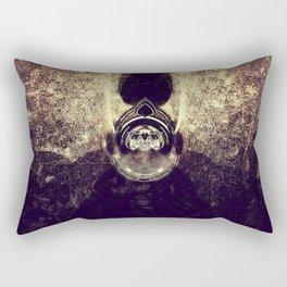 Exposure Art - Golden Devil Rectangular Pillow