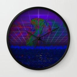 -Q- Wall Clock