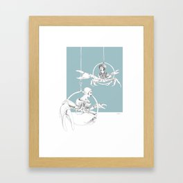 Weird & Wonderful: Crab Circus Framed Art Print
