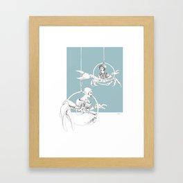 Weird & Wonderful: Crab Circus Framed Art Print