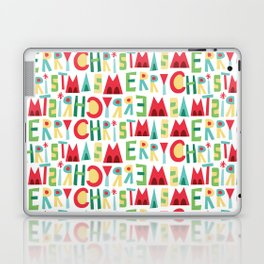 Merry Christmas Pattern Laptop & iPad Skin