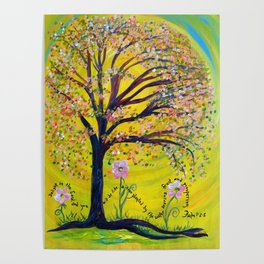 A Tree Planted by the Water Poster