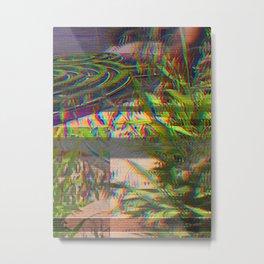 PlaNtS GLiTcH 9 Metal Print