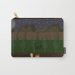 Not All Who Is Wandering Is Lost. Carry-All Pouch
